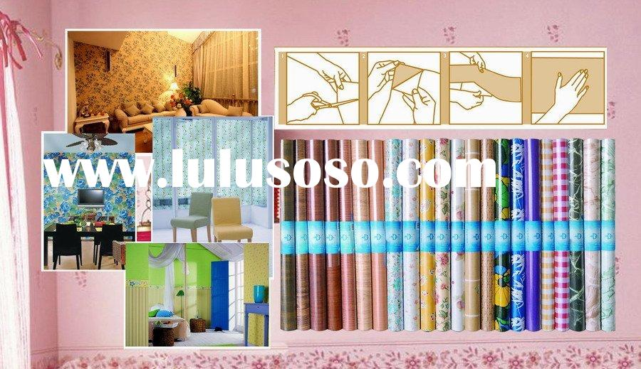 PVC self adhesive film(contact paper)