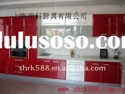 Piano Lacquer kitchen cabinet/kitchen cupboard/mdf furniture painted/cupboard design/kitchen cabinet