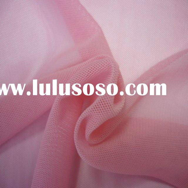 Pink elastic fabric/rubbery nylonfabric/4 way stretch fabric/high quality