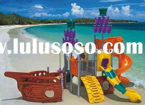Pirate ship playground,kids outdoor playground equipment.