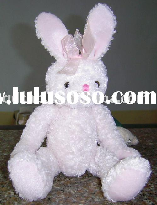 Plush Rabbit, Plush Sitting Rabbit, Mini Rabbit, Mini Bunnies, Stuffed Bunnies, Mini Plush Rabbit To