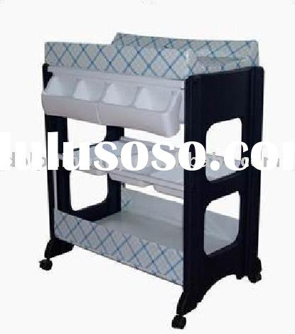 Portable 2 in 1 Baby changing table and bath tub stand