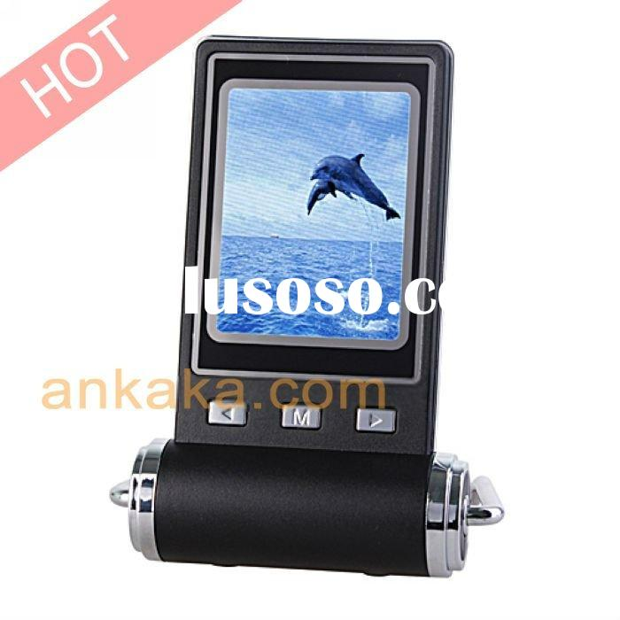 Portable Digital Photo Frame with 2.4 inch LCD Display and Clock