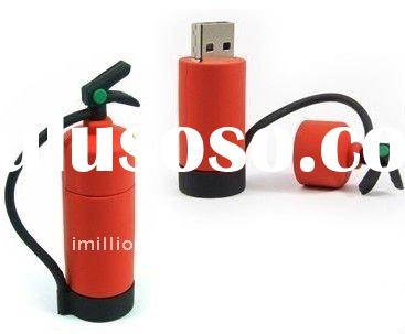 Promotional fire extinguisher usb flash memory drives