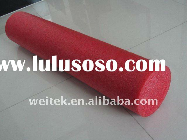 Red foam Roller 6''*30'',fitness program,yoga roller