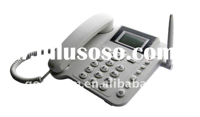 Resident and Office sim card GSM Fixed Wireless Desktop Phone