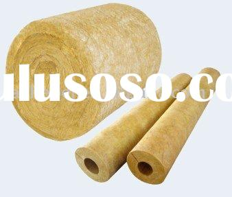 Rock wool pipe section rock wool pipe section for Mineral wool pipe insulation