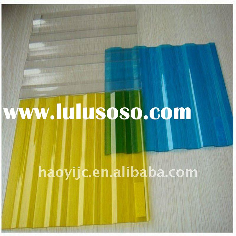 Roofing system polycarbonate(PC) corrugated sheet