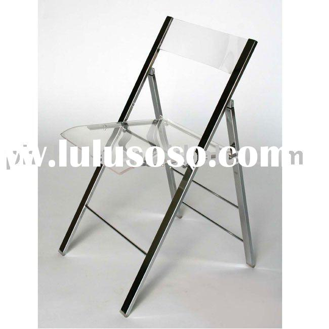 SF-25 Transparent Acrylic Folding Chair