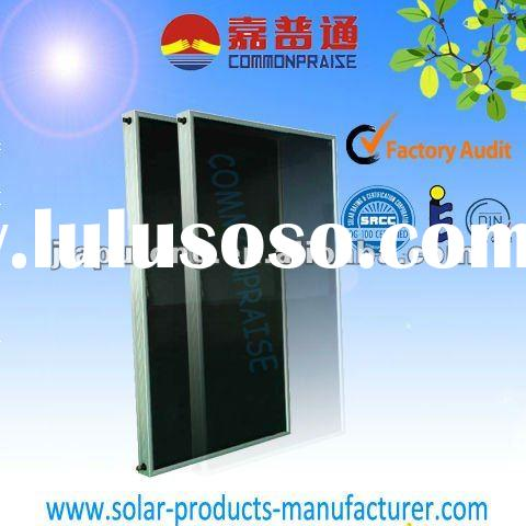 SRCC & Solar keymark Flat-plate solar thermal collector products,the part of solar water heater