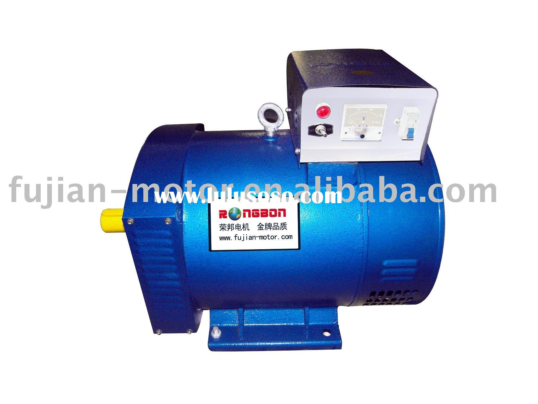 ST series single phase brush ac synchronous generator