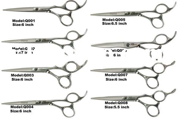 Salon barber stainless steel hair cutting scissors,hair tine scissors