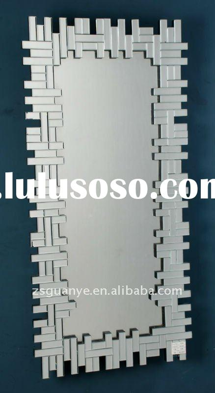 Silver modern large handmade cheap decorative wall mirrors