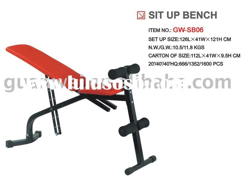 Sit up bench,gym bench,fitness bench,weight lifting bench,adjustable bench