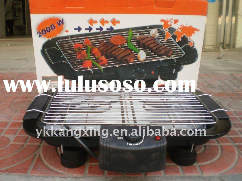 Stainless-steel-mesh electric bbq grill,Smokeless top sale eletric grill(MANUFACTURE)