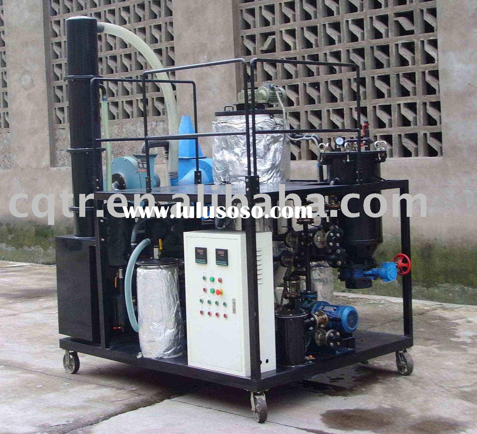 Used car oil recycling, engine oil recycling, motor oil recycling plant