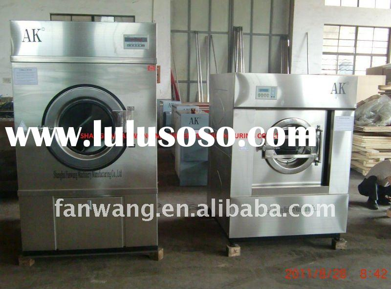 Various commercial laundry equipment