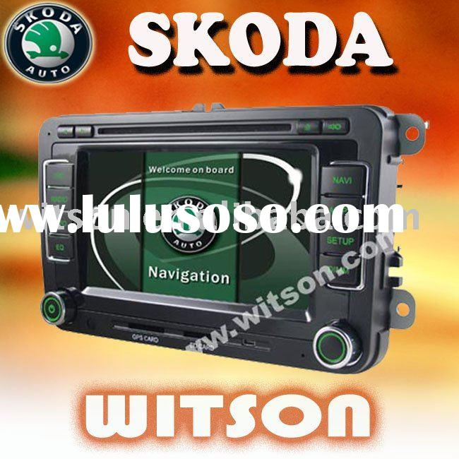WITSON 2 din car dvd gps for skoda octavia