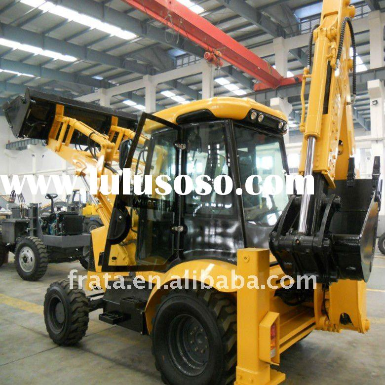 WZ30-25 backhoe loader with 0.96 m3 bucket capacity