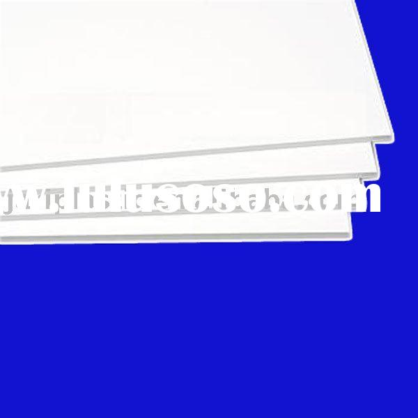 White PVC free foam sheet