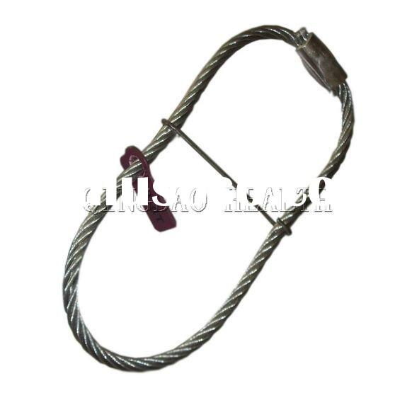 Wire rope anchor