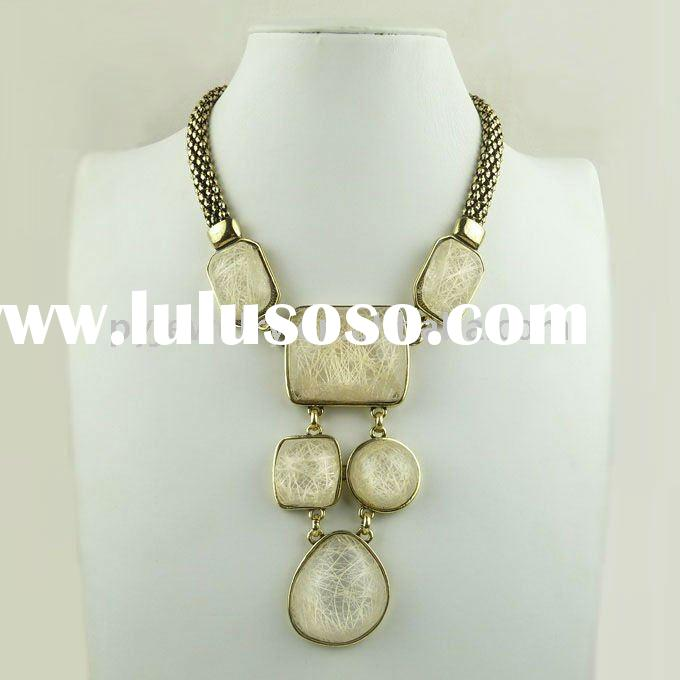Women Vintage Jewelry,Wholesale Alloy Costume Necklace Jewellery