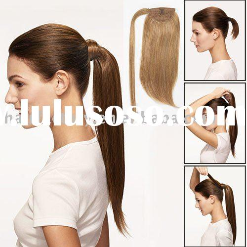 Human Hair Ponytail Extensions