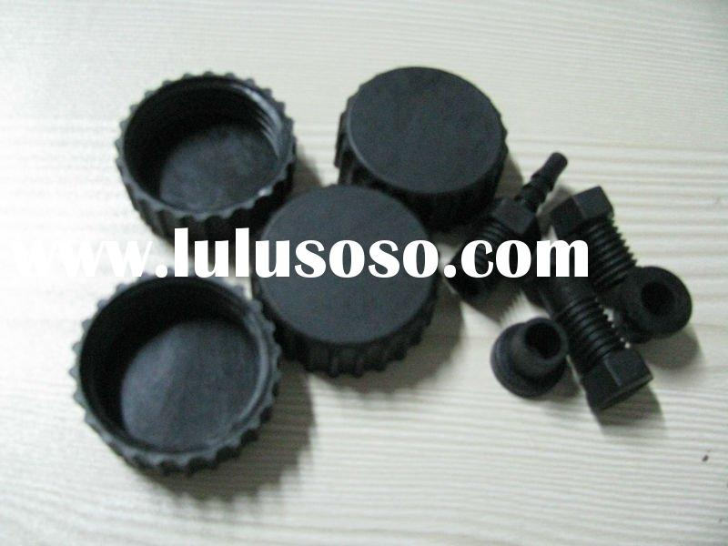 abs plastic lid gear screw and screw cap