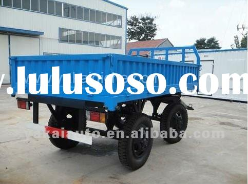 agricultural and farming trailer tractor towing transportation trailer full trailer
