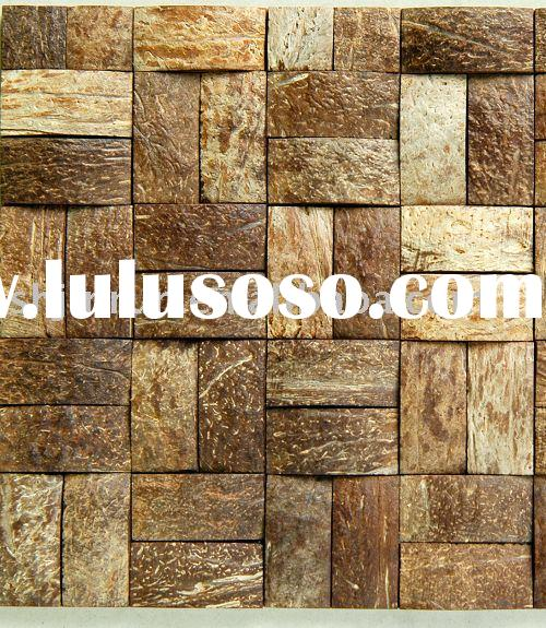 coconut mosaic coconut tiles luxury wall tile