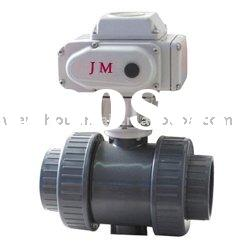 electric valve PVC ball valve