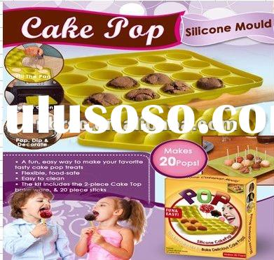 food grade silicone cake pos mould for brownies making