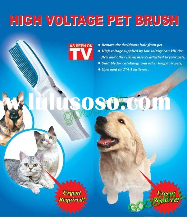 high voltage pet brush suitable for cats and dogs