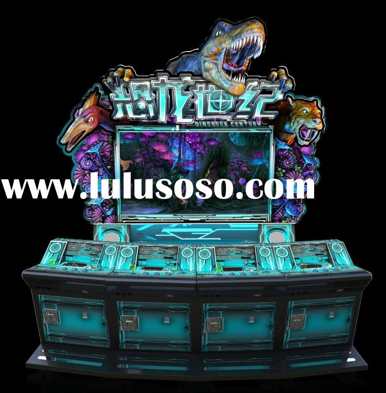 hotsale Dinosaurs Centurn game machine,slot machine, coin pusher machine