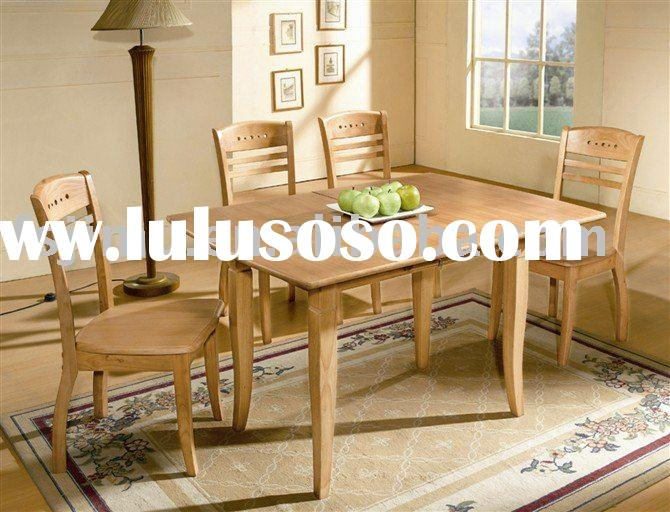 household furniture luxury dining table with 6 chairs
