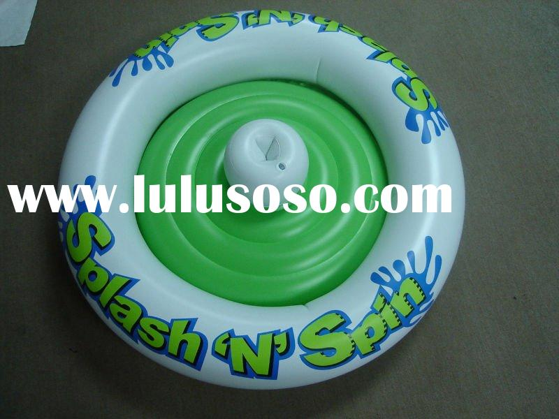 inflatable splash N spin, inflatable water toy, inflatable boat, pool float