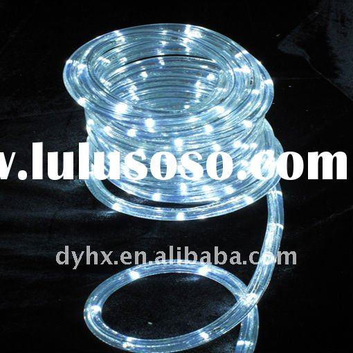 led round 2 wire led rope light , christmas lighting , wire neon led light