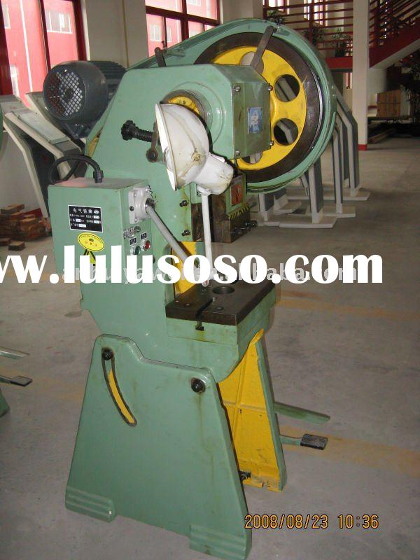 mechanical power punch machine, punch press machine for aluminum, power press J23-25T