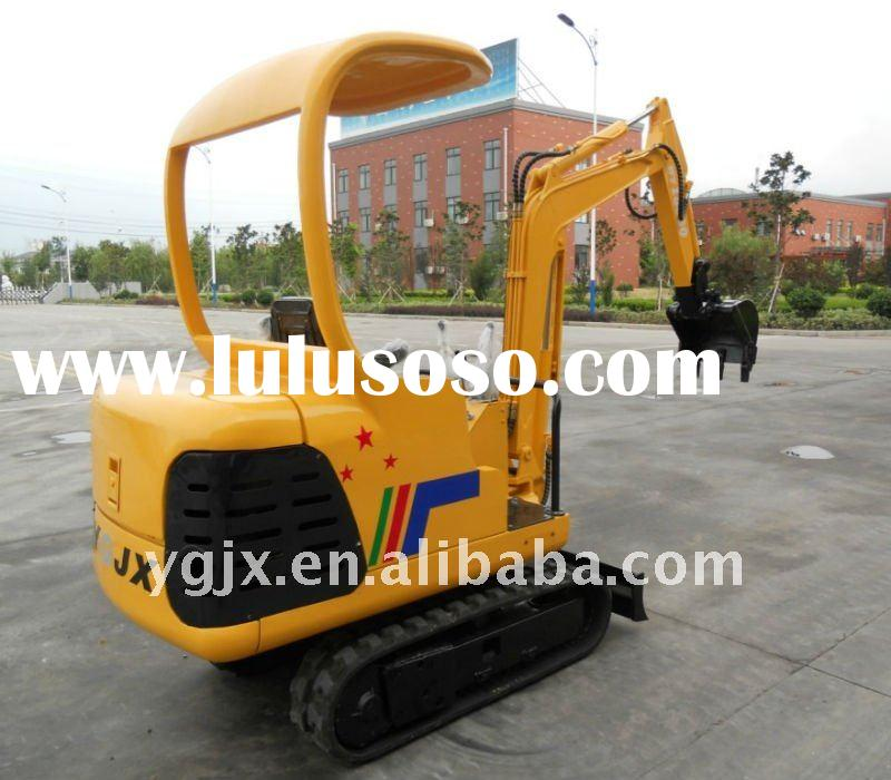 mini track digger 1.5 -2 ton construction machinery excavators for sale with hydraulic pump,break ha