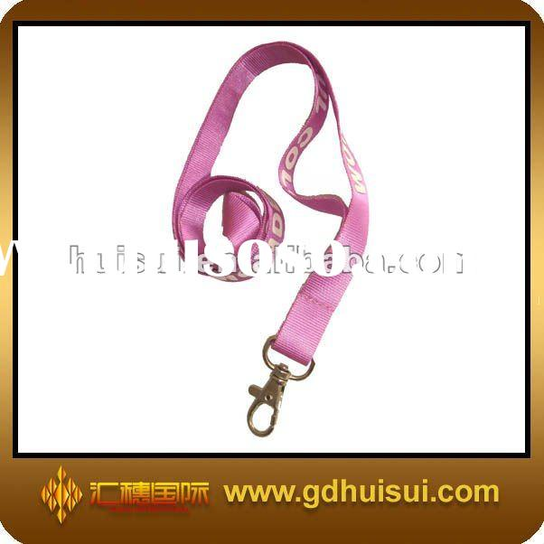 nylon custom lanyards no minimum order