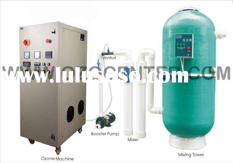 ozone generator combining with UV tank water sterilizer for water treatment swimming pool aquacultur