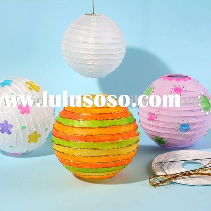 plain paper lantern for Chinese New Year decoration