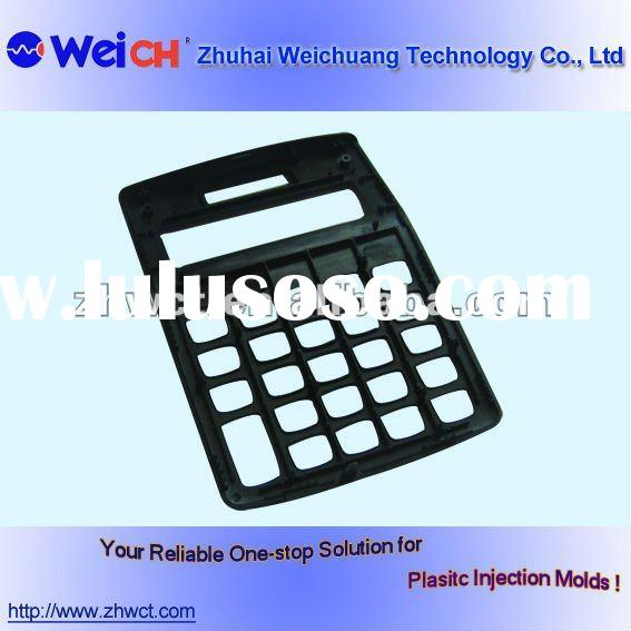 plastic calculator shell & injection mold for plastic cover