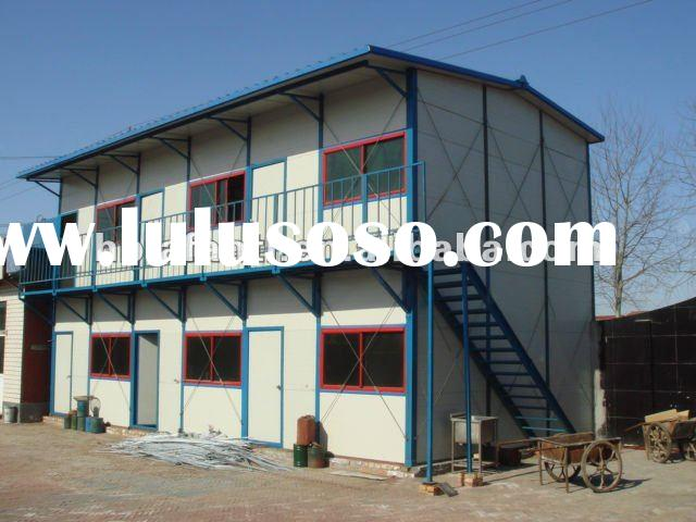 portable two floors prefabricated house