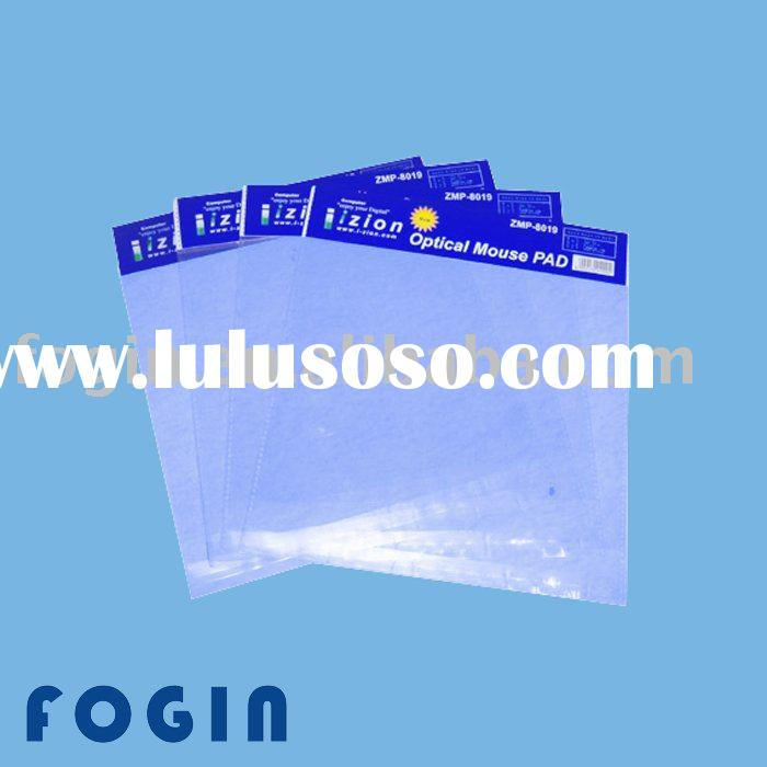 self-adhesive poly bag