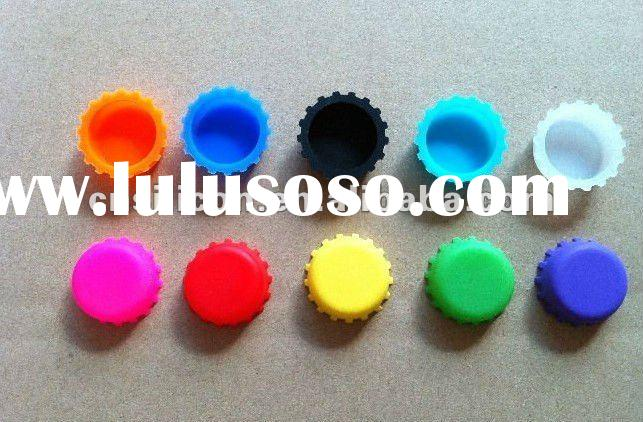 soft silicone beer bottle cap,promotional crown silicon beer bottle cap seal