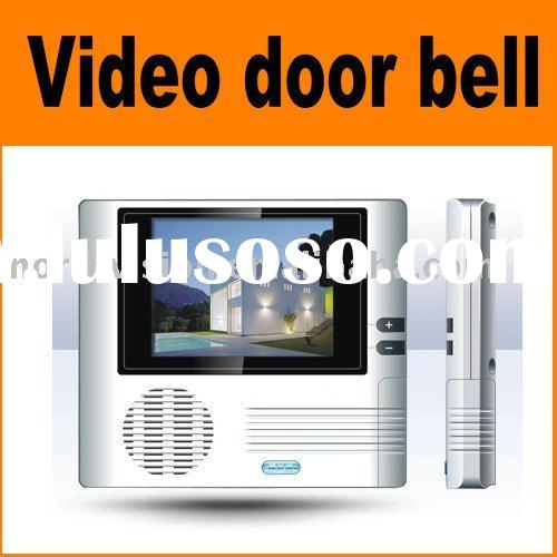 standalone battery video doorbell door peephole camera with 2.8 inch LCD monitor