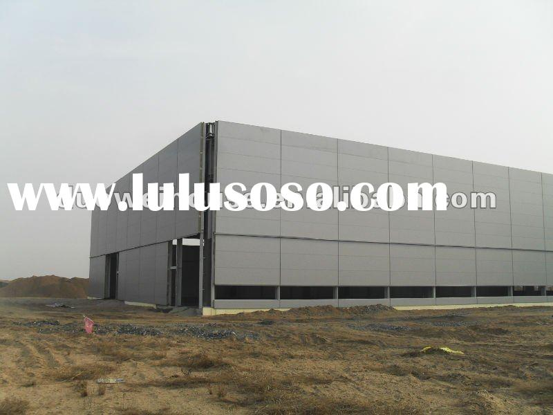 steel construction building for industry