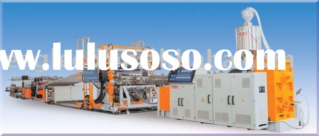 supply EA-1250 HIPS ABS PVC Sheet extrusion line