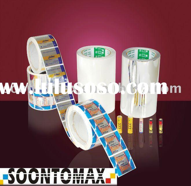 synthesis paper for label self adhesive paper